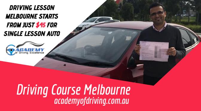 Driving Course Melbourne