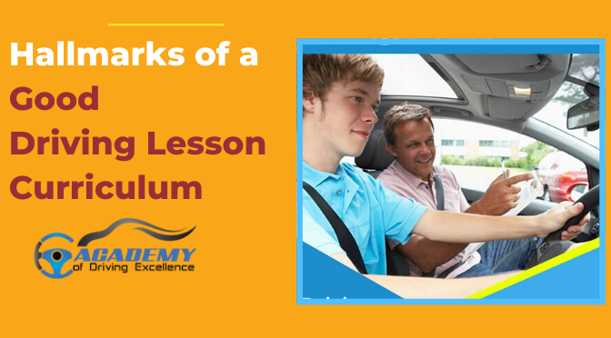 Hallmarks of a Good Driving Lesson Curriculum