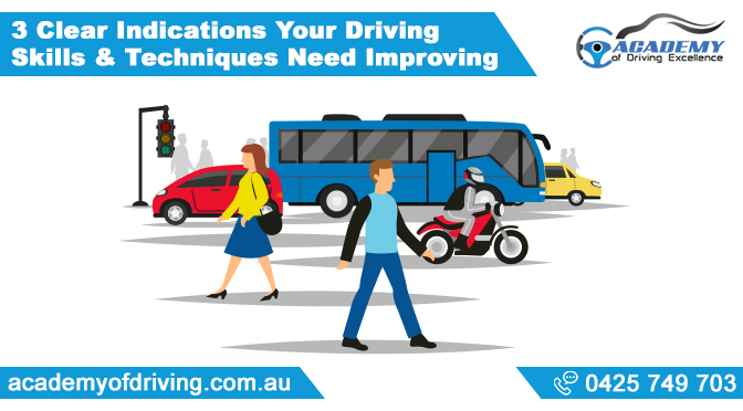 Driving Skills & Techniques Need Improving