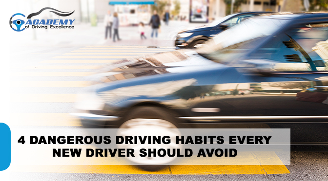 4 Dangerous Driving Habits Every New Driver Should Avoid