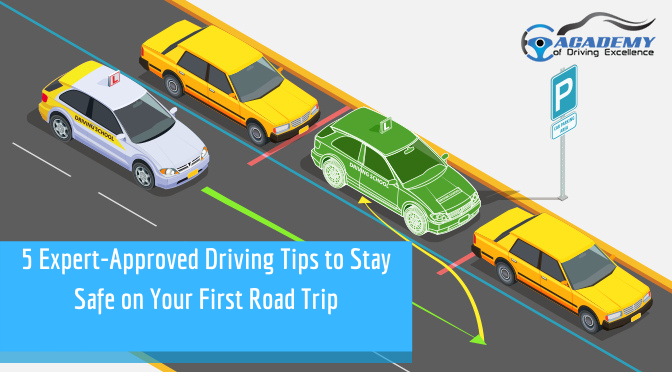 5 Expert-Approved Driving Tips to Stay Safe on Your First Road Trip