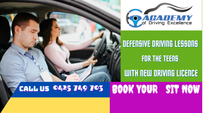 Principles of Defensive Driving Lessons For The Teens With New Driving Licence