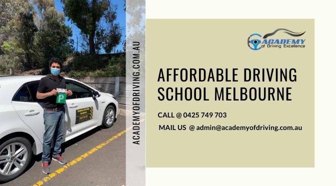 Affordable Driving School Melbourne